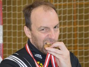 U15-Coach Gerald Gretzl - Staatsmeister, 24.05.2015