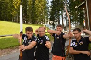Teambuilding in Maria alm, 2013 - Fuger, Eitutis, Eckl, Kirveliavicius
