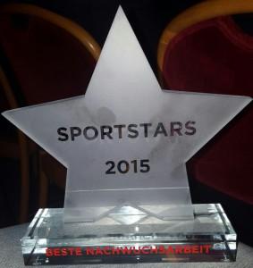 Sportstars 2015 - Trophäe beste Nachwuchsarbeit