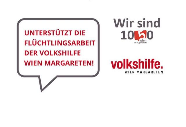 Wir sind 1050 - BV Margareten unterstützt die Flüchtlingsarbeit der Volkshilfe_Homepage