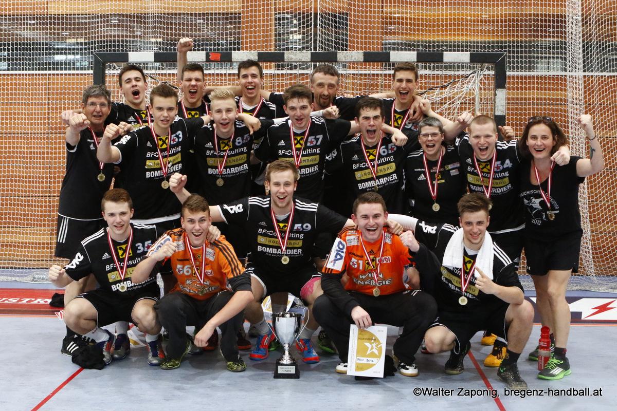 Österreichischer Meister U18_Saison 2014-15_Foto Walter Zaponig