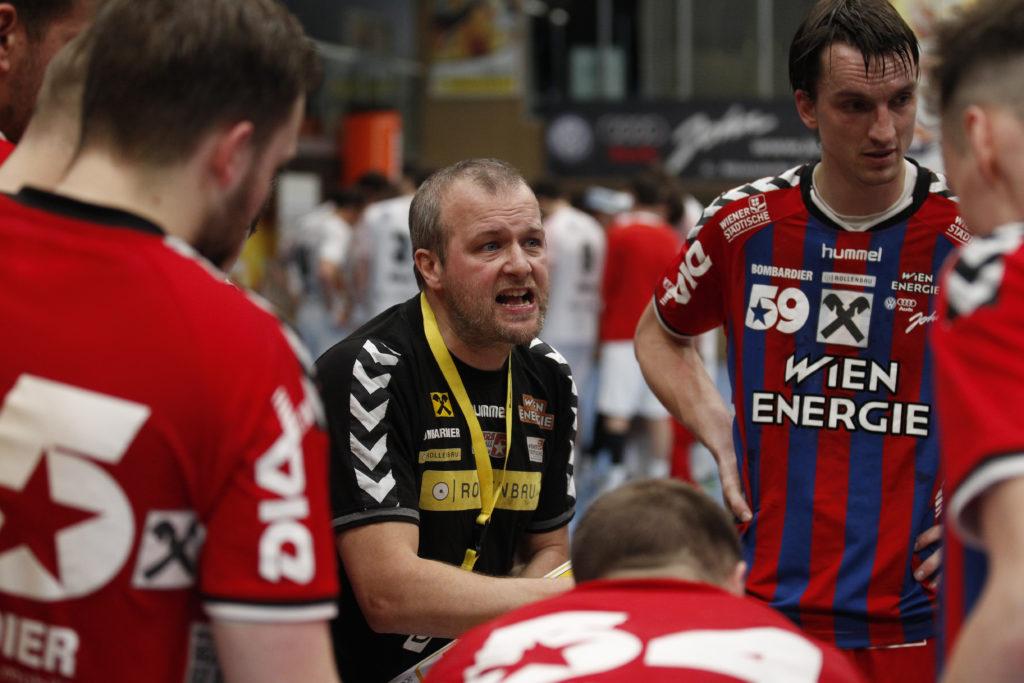 18.02.2017 Handball, Hollgasse, Wien, HLA Fivers Margareten - Alpla Hard Peter Eckl Copyright DIENER / Eva Manhart www.diener.at