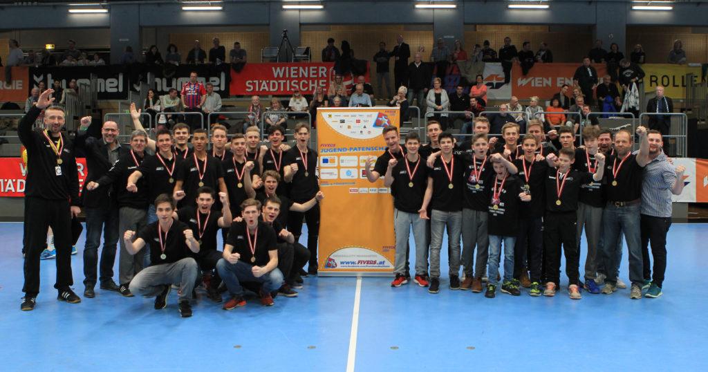 18.02.2017 Handball, Hollgasse, Wien, HLA Fivers Margareten - Alpla Hard Copyright DIENER / Eva Manhart www.diener.at