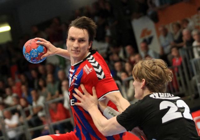10.05.2017 Handball , Hollgasse , Wien Fivers - Schwaz Markus Kolar. Copyright DIENER / PhilippSchalber