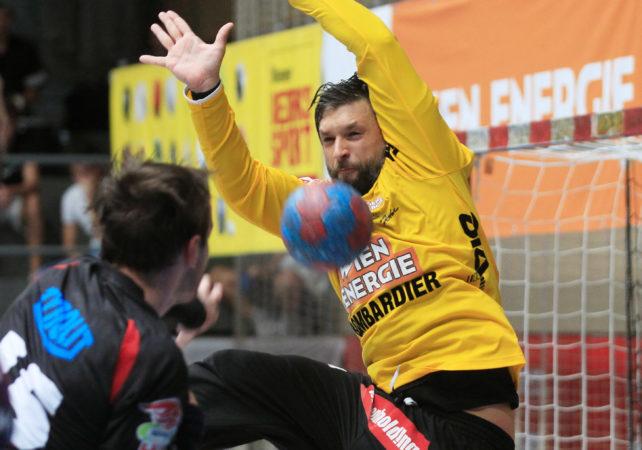 01.09.2017 Handball , Hollgasse , Wien Fivers - Schwaz Wolfgang Filzwieser. Copyright DIENER / PhilippSchalber