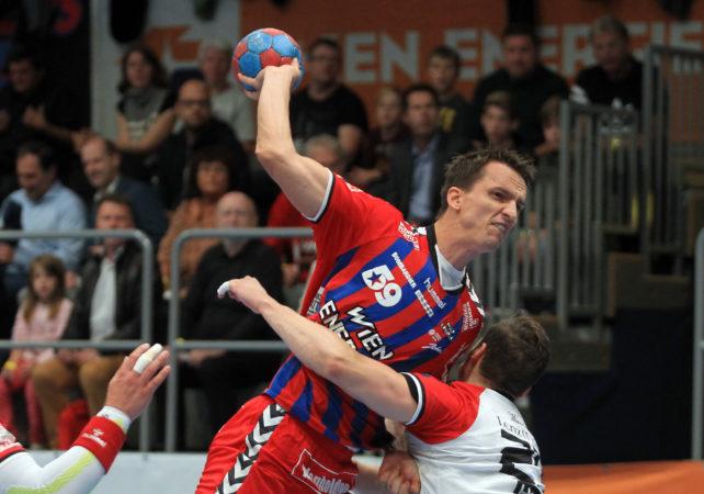 15.09.2017 Handball , Hollgasse , Wien Fivers - Krems Markus Kolar. Copyright DIENER / PhilippSchalber