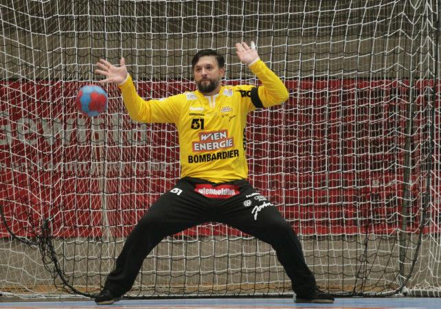 04.10.2017 Handball , Hollgasse , Wien Fivers - Hard Wolfgang Filzwieser. Copyright DIENER / PhilippSchalber