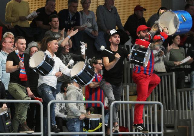 11.11.2017 Wien, Handball , Fivers - Bregenz, Fans,   , Copyright DIENER / Philipp Schalber