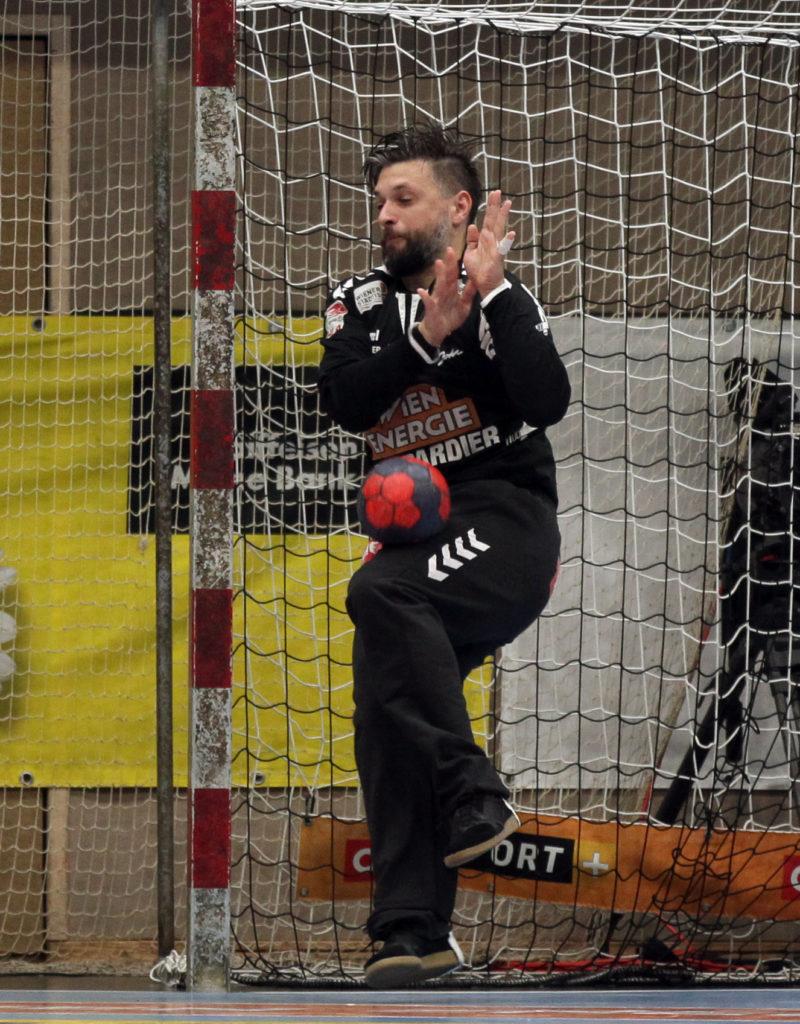 15.05.2018 Handball, HLA, Fivers - Krems, Wolfgang Filzwieser ,Copyright DIENER / Philipp Schalber