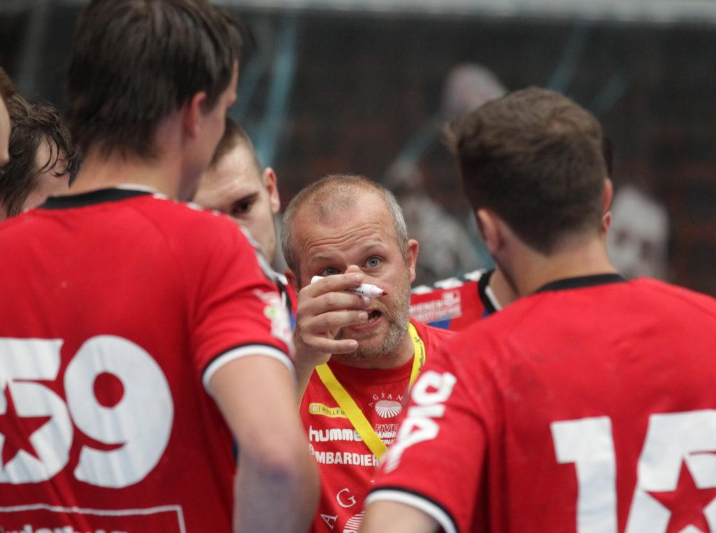 15.05.2018 Handball, HLA, Fivers - Krems, Peter Eckl ,Copyright DIENER / Philipp Schalber