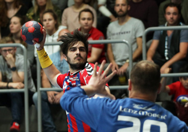 15.05.2018 Handball, HLA, Fivers - Krems,   Herbert Jonas ,Copyright DIENER / Philipp Schalber