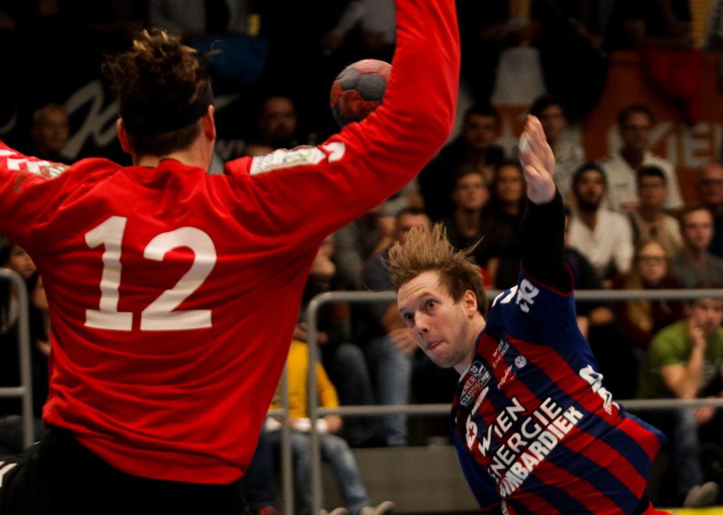 17.11.2018 Handball, HLA, Wien, Hollgasse, Fivers - Graz, David Brandfellner , Copyright DIENER / Philipp Schalber