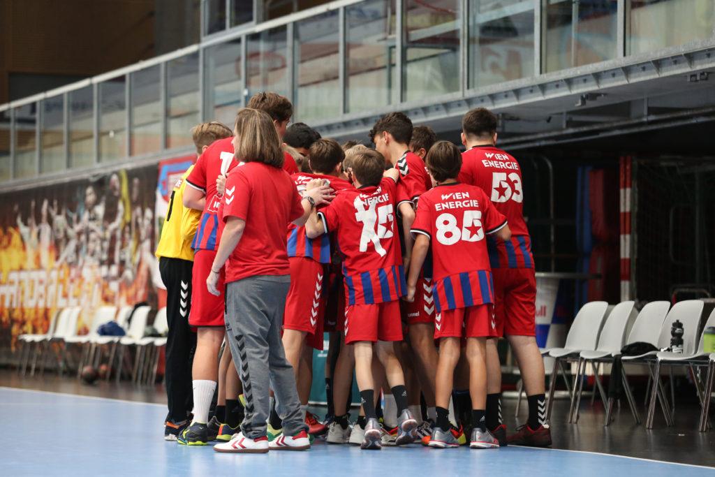 Ein starkes Team: Die FIVERS U13. Fotocredit: spusu LIGA