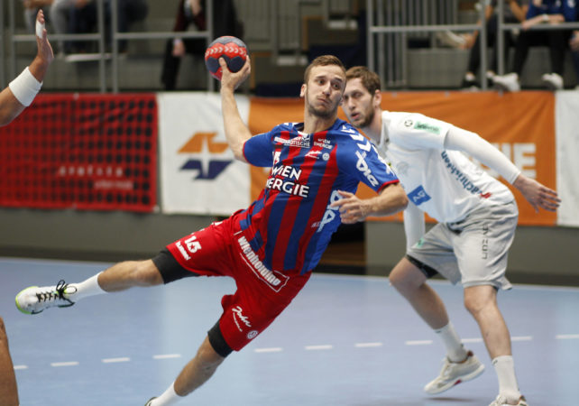 29.09.2018 Handball, Wien, Sporthalle Margareten, spusu Liga, HC FIVERS WAT Margareten - HC LINZ AG   Copyright DIENER / Eva Manhart