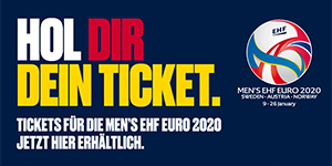 EHF EURO 2020: Tagestickets