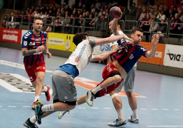 09.02.2019 Handball, HLA, Wien, Hollgasse, Fivers - Linz,  Mathias Nikolic , Copyright DIENER / Philipp Schalber