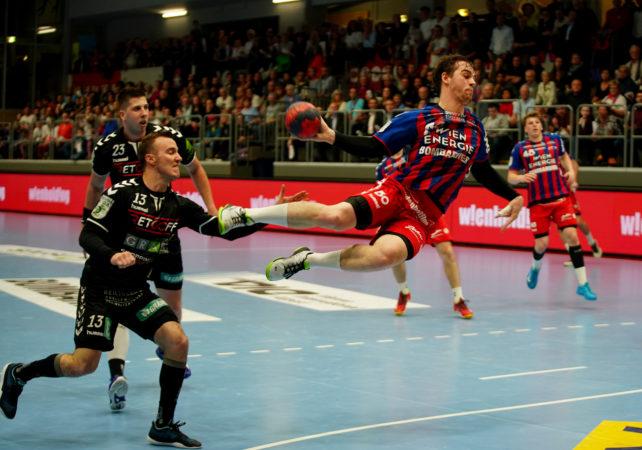 29.04.2019 Handball, HLA, Wien, Hollgasse, Fivers - Graz,  Vincent Schweiger , Copyright DIENER / Philipp Schalber