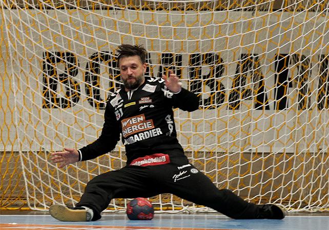 18.12.2018 Handball, HLA, Wien, Hollgasse, Fivers - Krems, Wolfgang Filzwieser , Copyright DIENER / Philipp Schalber