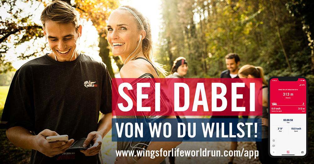 190505_Wings for Life World Run app