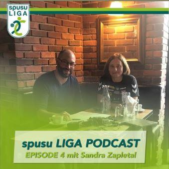 spusu LIGA Podcast mit Sandra Zapletal