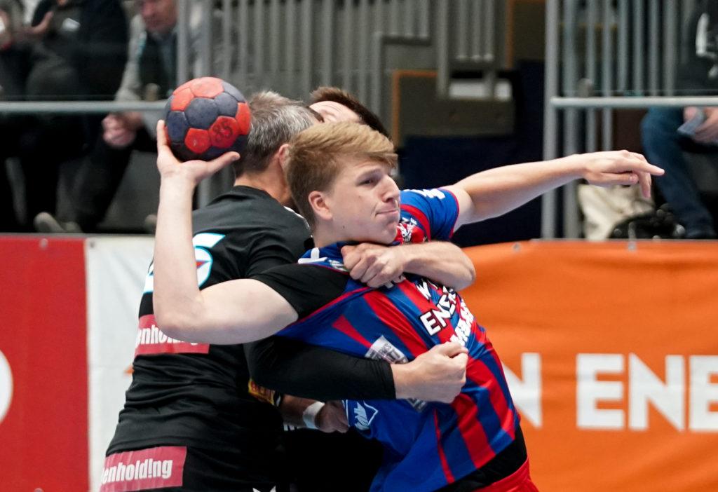 18.09.2019 Handball, HLA, Wien, Hollgasse, Fivers - Schwaz, Lukas Hutecek , Copyright DIENER / Philipp Schalber