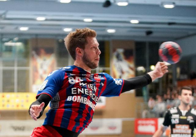 18.09.2019 Handball, HLA, Wien, Hollgasse, Fivers - Schwaz,  David Brandfellner   , Copyright DIENER / Philipp Schalber