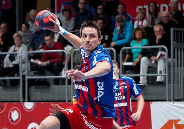 01.11.2019 Handball, HLA, Wien, Hollgasse, Fivers - Krems,   Markus Kolar  , Copyright DIENER / Philipp Schalber