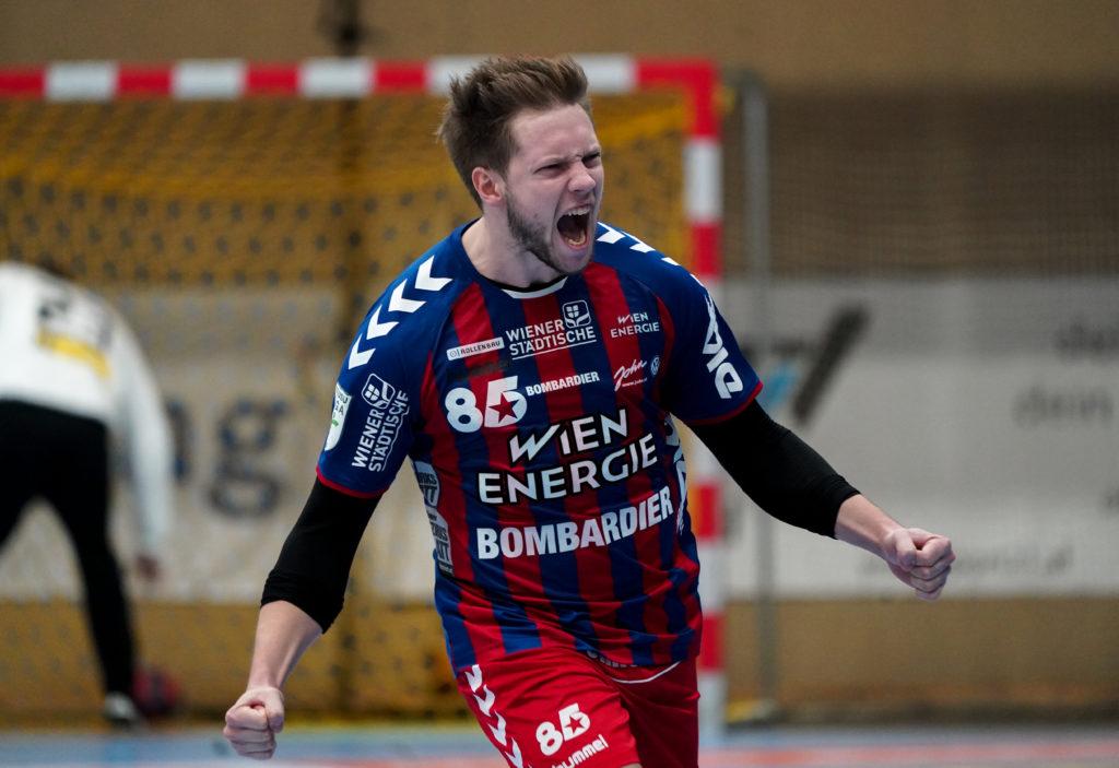 01.11.2019 Handball, HLA, Wien, Hollgasse, Fivers - Krems, David Brandfellner , Copyright DIENER / Philipp Schalber