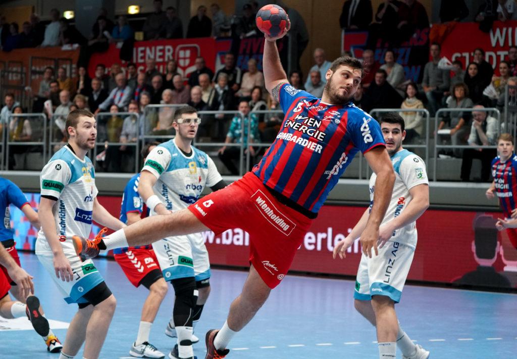 30.11.2019 Handball, HLA, Wien, Hollgasse, Fivers - Linz, Tobias Wagner , Copyright DIENER / Philipp Schalber