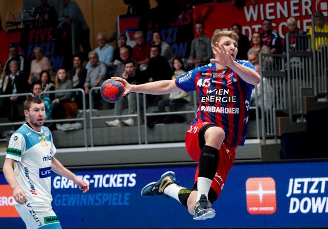 30.11.2019 Handball, HLA, Wien, Hollgasse, Fivers - Linz, Lukas Hutecek   , Copyright DIENER / Philipp Schalber