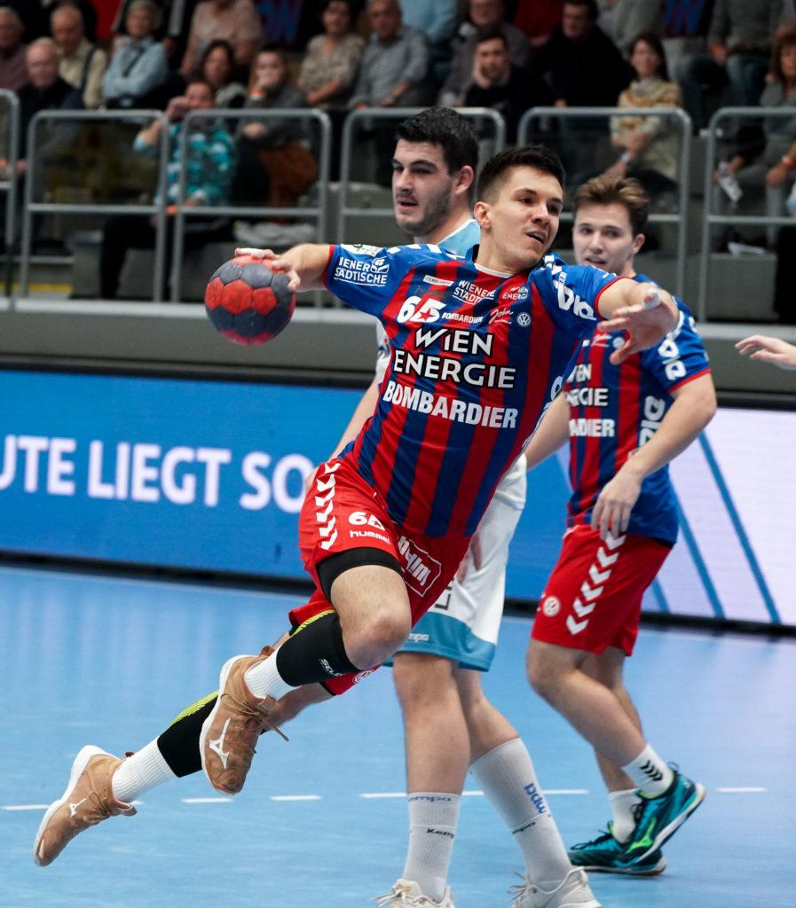 30.11.2019 Handball, HLA, Wien, Hollgasse, Fivers - Linz, Fabian Glaetzl , Copyright DIENER / Philipp Schalber