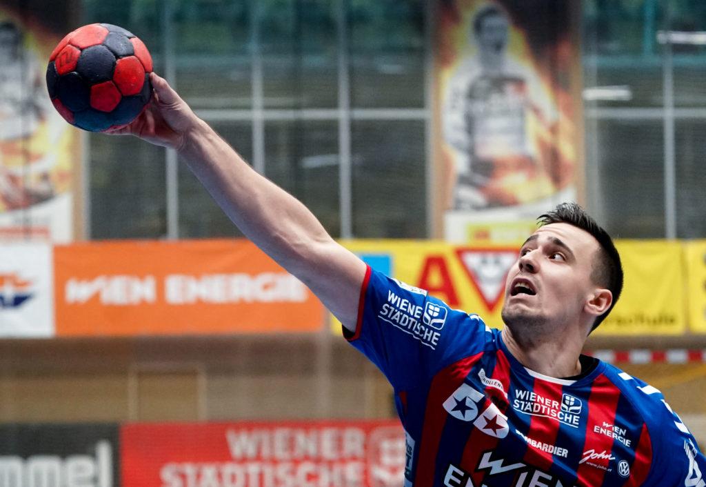 15.12.2019 Handball, HLA, Wien, Hollgasse, Fivers - Ferlach, Marin Martinovic , Copyright DIENER / Philipp Schalber
