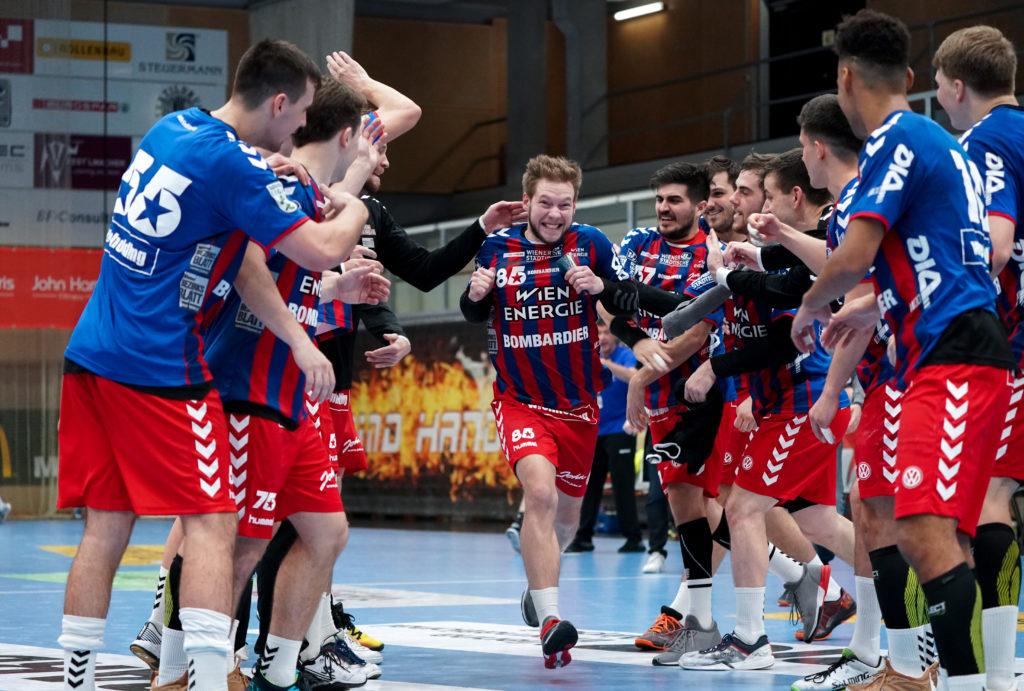 15.12.2019 Handball, HLA, Wien, Hollgasse, Fivers - Ferlach, David Brandfellner , Copyright DIENER / Philipp Schalber