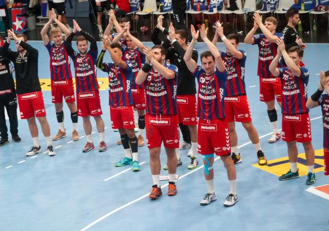 15.12.2019 Handball, HLA, Wien, Hollgasse, Fivers - Ferlach,  Jubel , Spieler , Copyright DIENER / Philipp Schalber