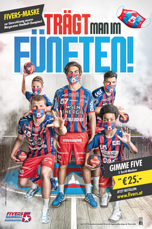 FIVERS-Plakat-Maske